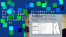 modelado de armadura usando ANSYS APDL (metodo-1) - video