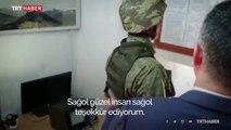 """Sınırda nöbet tutan Mehmetçiğe """"Anneler Günü"""" sürprizi"""