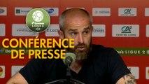Conférence de presse US Orléans - AS Béziers (0-0) : Didier OLLE-NICOLLE (USO) - Mathieu CHABERT (ASB) - 2018/2019