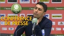 Conférence de presse Valenciennes FC - Havre AC (1-0) : Réginald RAY (VAFC) - Oswald TANCHOT (HAC) - 2018/2019