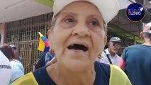 Una anciana contra Maduro en la cola del súper, en estado Falcón.
