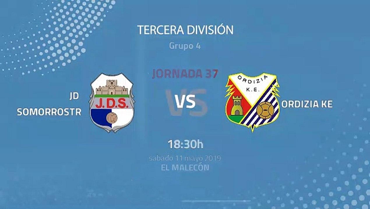 JD Somorrostro-Ordizia KE Jornada 37 Tercera División 11-05-2019_18-30