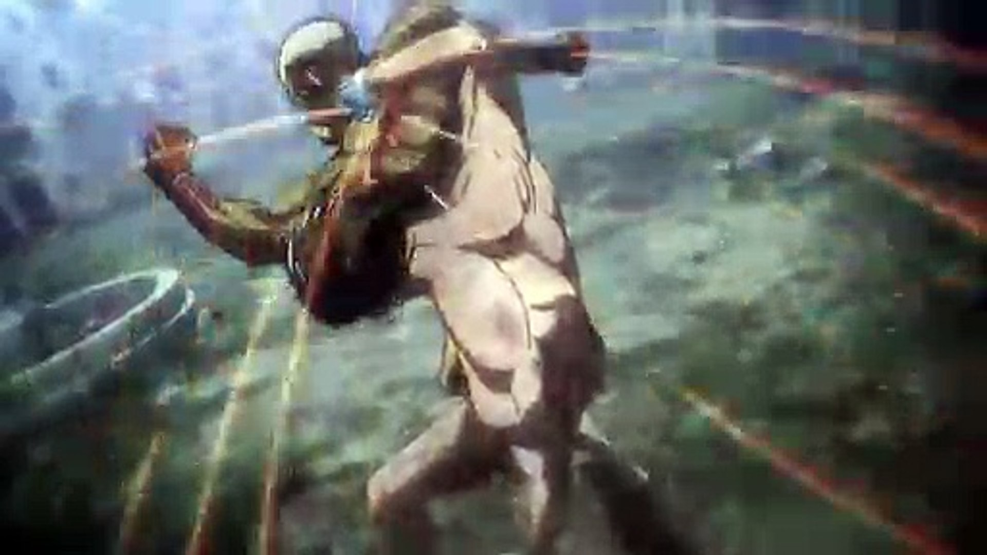 Eren VS  Reiner!! (Full Fight) Attack on Titan Season 3 Part 2 Episode 2