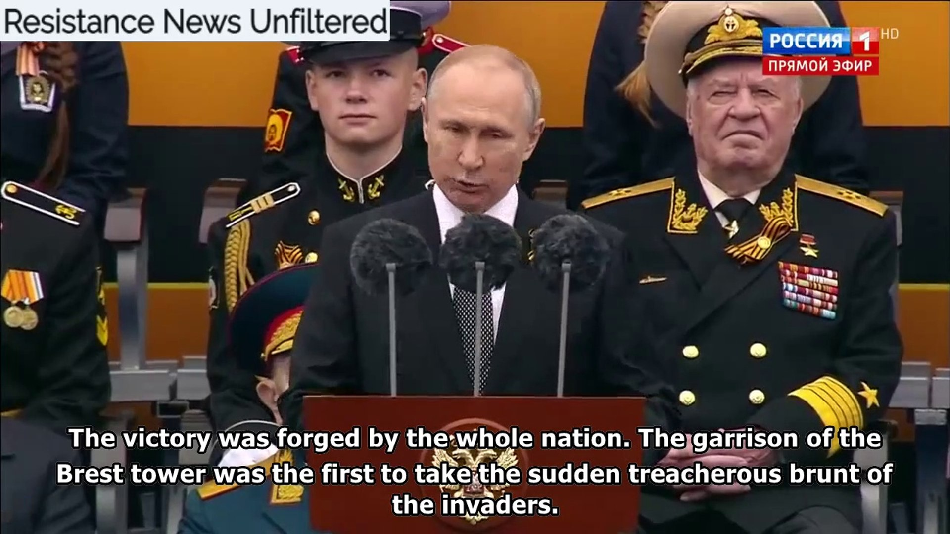 Vladimir Putin's Speech on the 74th anniversary of the defeat of Nazi Germany