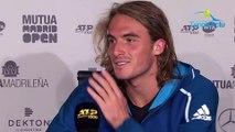 "ATP - Masters 1000 Madrid 2019 - Stefanos Tsitsipas a sorti le Roi Rafael Nadal : ""Je suis fier... !"""