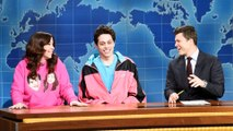 Weekend Update: Pete Davidson on Living with His Mom