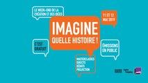 Quelle histoire ! Emission en direct du Festival Imagine à Beaubourg