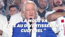 """""""Les mensonges, les compromis"""", Patrick Sébastien fait ses adieux en citant Cyrano de Bergerac"""