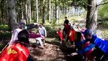 Vosges : le trail des familles à Pouxeux