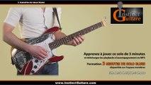 3 minutes de solo blues - Instinct Guitare