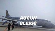 Cet atterrissage d'avion en urgence en Birmanie aurait pu bien plus mal se terminer