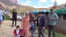 Şırnak 4 Çocuğu, Teröristler Tarafından Öldürülen Kadına 'Anneler Günü' Ziyareti