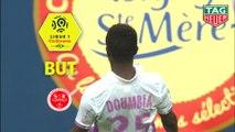 But Moussa DOUMBIA (37ème) / SM Caen - Stade de Reims - (3-2) - (SMC-REIMS) / 2018-19