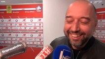 36e j. - En pleine interview, Gérard Lopez kidnappé par ses joueurs