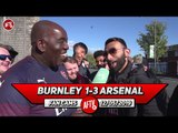 Burnley 1-3 Arsenal | Congrats To Nketiah On His First Premier League Goal! (Moh)