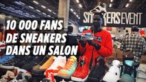Salon Sneakers Event à Paris : de 50 à 8500 € la paire
