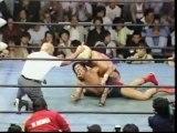 Ric Flair vs. Jumbo Tsuruta  - 2 out of 3 Falls (AJPW Giant Series 1981 - Tag 7)