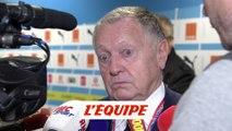 Aulas «Eyraud était un peu catastrophé» - Foot - L1 - Lyon