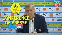 Conférence de presse Olympique de Marseille - Olympique Lyonnais (0-3) : Rudi GARCIA (OM) - Bruno GENESIO (OL) / 2018-19