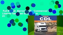 Full E-book  Barron's CDL: Commercial Driver's License Test  Best Sellers Rank : #5