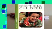 Full version  Exceptional Children: An Introduction to Special Education  Best Sellers Rank : #4