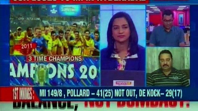IPL Final MI vs CSK Highlights: Mumbai Indians beat Chennai Super Kings by 1 run to lift IPL Trophy