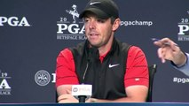 Rory McIlroy and Dustin Johnson look ahead to the 101st PGA Championship