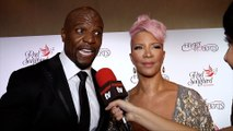 """Terry Crews and Rebecca Crews Interview """"The Red Songbird Foundation"""" Launch Red Carpet"""