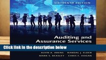 Full version  Auditing and Assurance Services  Review