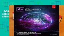 Adobe After Effects CC Classroom in a Book (2018 release) (Classroom in a Book (Adobe)) Complete