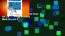 About For Books  C# 7.0 Pocket Reference: Instant Help for C# 7.0 Programmers  Best Sellers Rank :