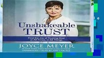 About For Books  Unshakeable Trust: Find the Joy of Trusting God at All Times, in All Things  For