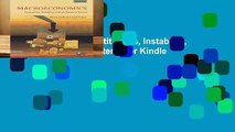 Macroeconomics: Institutions, Instability, And The Financial System  For Kindle