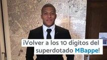 Volver a los 10 digitos del superdotado MBAPPE