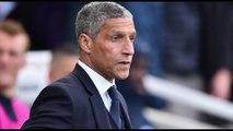 Hughton sacked as Brighton boss