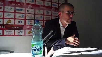 Vidéo VIZADE - En conférence de presse : J.A.VCM / Denain (Pro B J32) 1/2