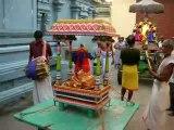 Procession Temple Hindou