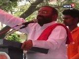 कुशीनगर के बेलवनिया चौराहे पर आयोजित नुक्कड़ सभा में बोलते हुए मंत्री जी ने मायावती और अखिलेश पर निशाना साधा.