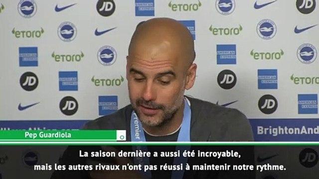 """Guardiola : """"le championnat le plus difficile que j'ai gagné"""""""