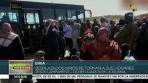 Retornan miles de refugiados sirios a su país desde Jordania