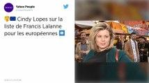 Européennes: l'ex-candidate de Secret Story Cindy Lopes rejoint la liste gilets jaunes de Francis Lalanne