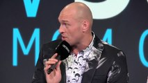 Undefeated heavyweight Tyson Fury looks ahead to June fight with Schwarz