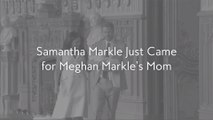 Samantha Markle Just Came for Meghan Markle's Mom
