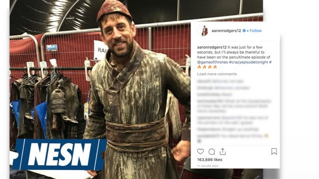 Aaron Rodgers Makes Game Of Thrones Debut