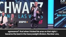 (Subtitled) 'I am the number 1' Unbeaten Tyson Fury looks ahead to June fight with Schwarz