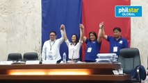 Joy Belmonte, Gian Sotto proclaimed winners in Quezon City