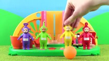 Teletubbies: Teletubbies Chase The Ball   Toy Play Video   Play games with Teletubbies
