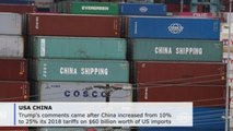 Trump ready to impose more tariffs on Chinese imports as trade was deepens