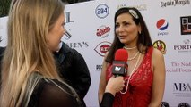 """Constance Marie Interview """"Yasiel Puig's 3rd Annual Celebrity Poker Tournament"""" Red Carpet"""