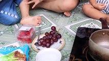 Essayez de Manger kẹo Hồ Lô Diy super Délicieux  Bébé Beurre TV  Aliments pour Bébés Enfants de la Nourriture